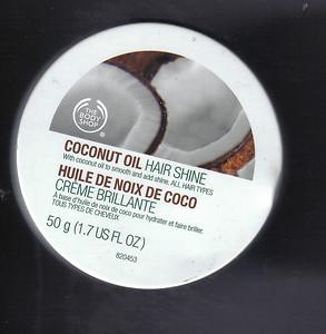 tbs coconut oil hair shine