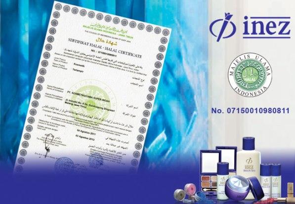 Image result for inez sertifikat halal