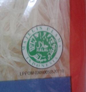 bihun 3q logo halal mui