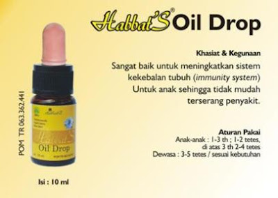 Habbats oil drop 10ml
