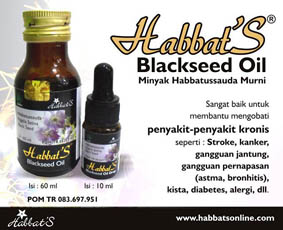 habbats oil drop 60 ml