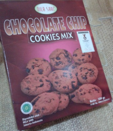 nila sari chocolate chips cookies mix