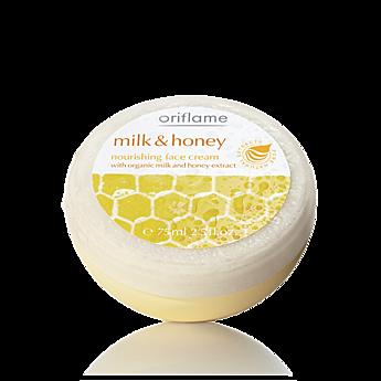 oriflame milk and honey face cream