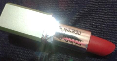 ristra lipstick cherry red