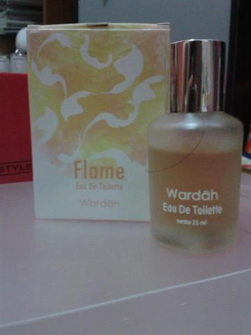 wardah flame eau de toilette