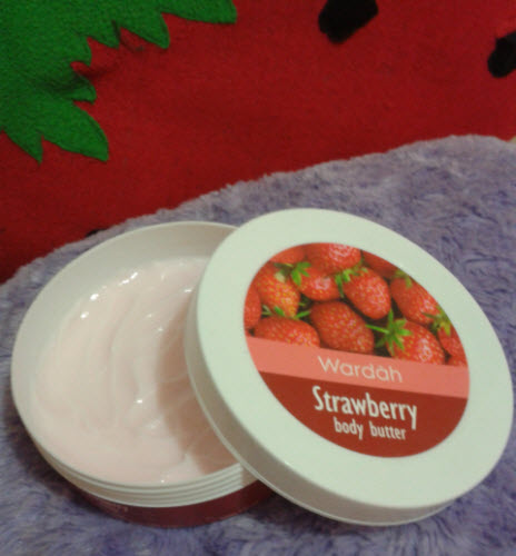 wardah strawberry body butter