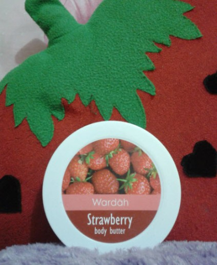 wardah strawberry body butter2