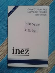 inez compact powder beige glow