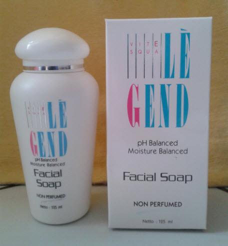 legend facial soap