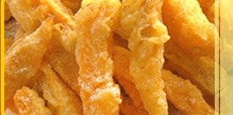 sweet plum potato fries