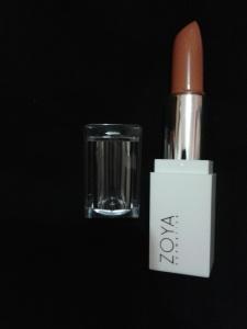 zoya lipstick caramel creme1
