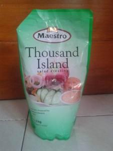maestro thousand island halal