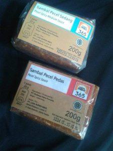 sambal pecel 365 halal