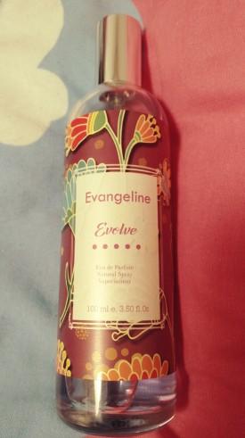 review evangeline evolve eau de parfum